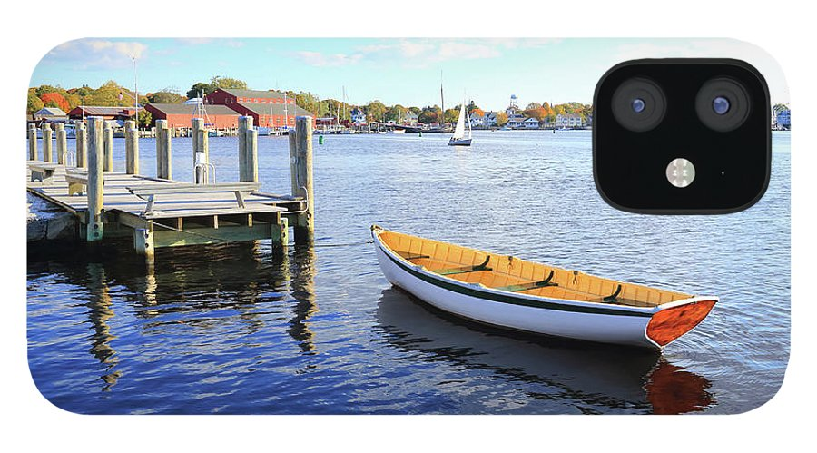 Steps IPhone 12 Case featuring the photograph Connecticut Mystic Seaport by Shunyufan