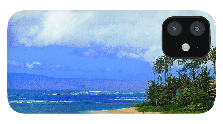 Hawaii Iphone Cases IPhone 12 Case featuring the photograph Cooling Off Hawaiian Style by James Temple