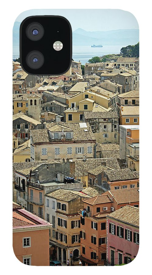 Greek Culture IPhone 12 Case featuring the photograph Corfu, Greece by David Gould