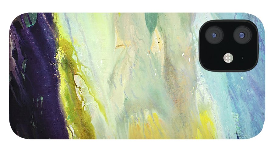 Art IPhone 12 Case featuring the digital art Couple by Balticboy
