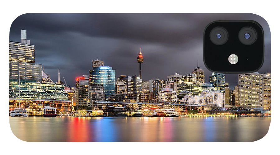 Outdoors IPhone 12 Case featuring the photograph Darling Harbour, Sydney - Australia by Atomiczen