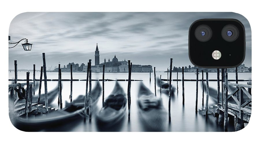 Dawn IPhone 12 Case featuring the photograph Dawn In Venice by Mammuth