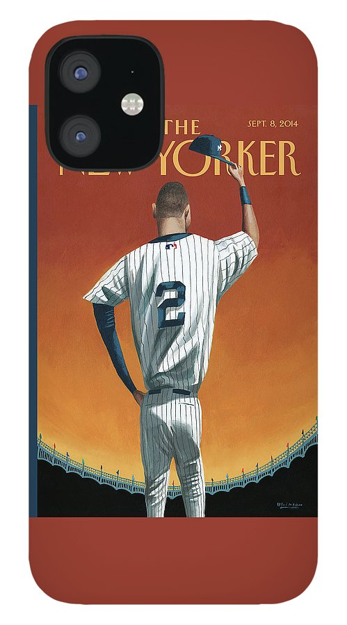 Derek Jeter Bows Out iPhone 12 Case