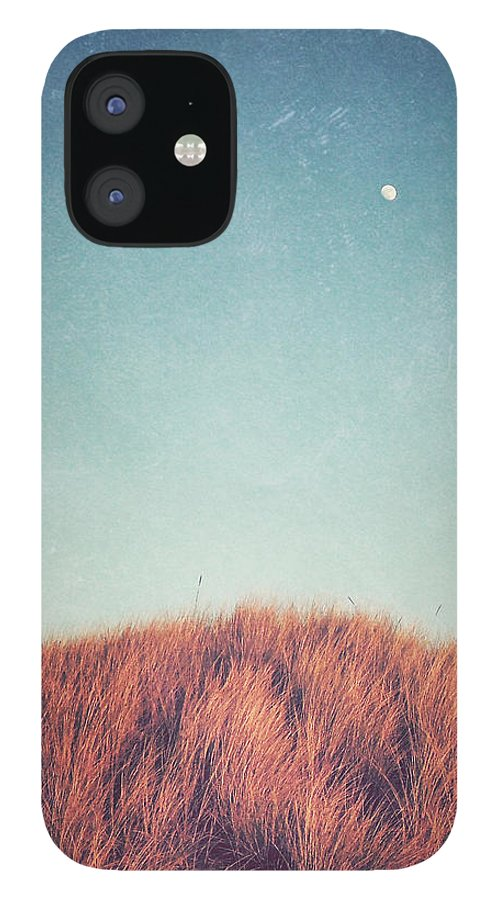 Moon IPhone 12 Case featuring the photograph Distant Moon by Lupen Grainne