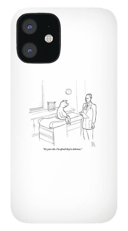 Doctor To Pig IPhone 12 Case