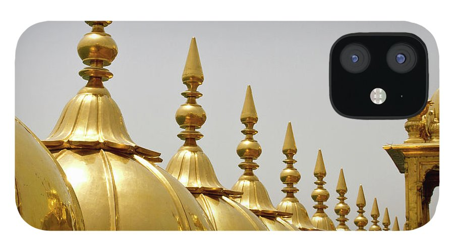 Tranquility IPhone 12 Case featuring the photograph Domes At Golden Temple by *swatikulkarni*