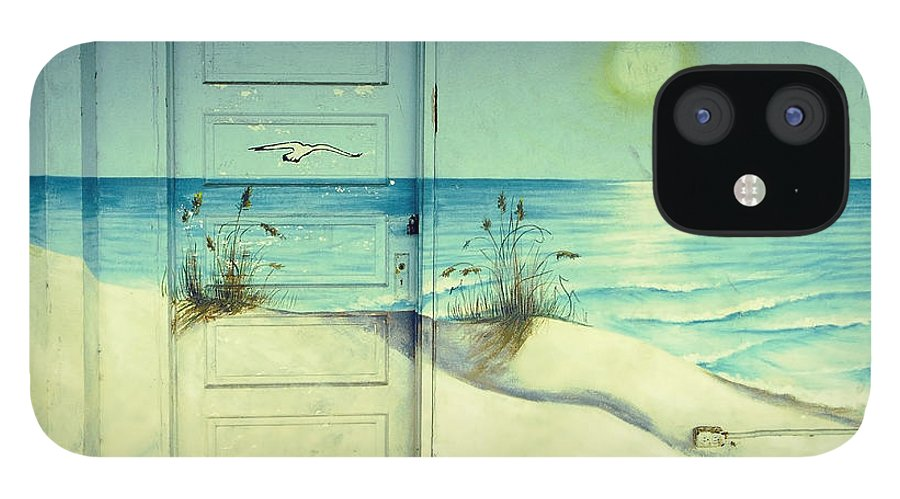 Architecture IPhone 12 Case featuring the photograph Door of Perception by Skip Hunt