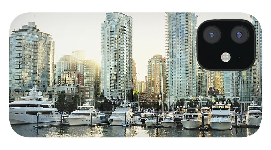 Tranquility IPhone 12 Case featuring the photograph Dragon Boating In Vancouver by Carlina Teteris