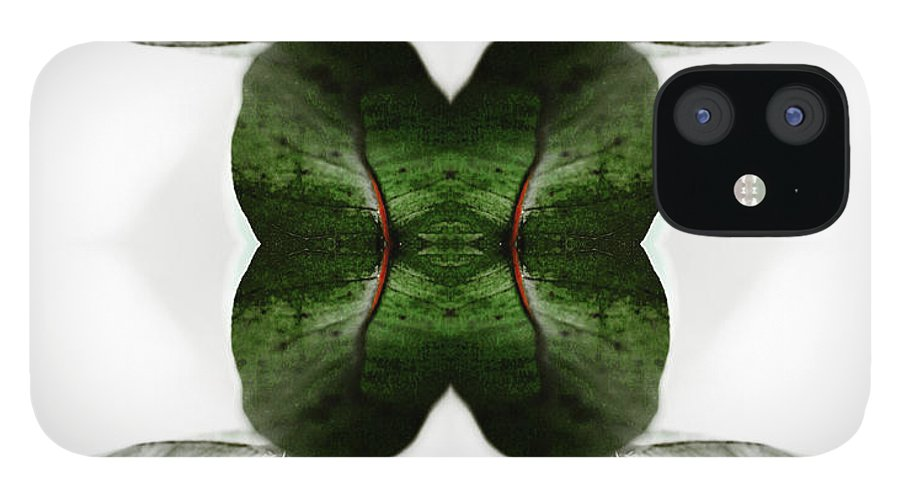 Tranquility IPhone 12 Case featuring the photograph Eucalyptus Leaves by Silvia Otte