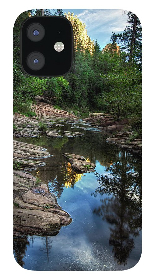 Tranquility IPhone 12 Case featuring the photograph Fall Is Right Around The Corner In by Image By Sean Foster