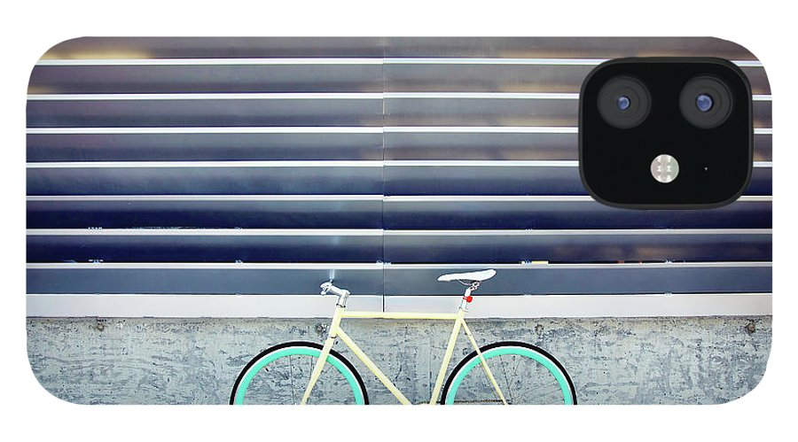 Tranquility iPhone 12 Case featuring the photograph Fixie by I Love Taking Photo