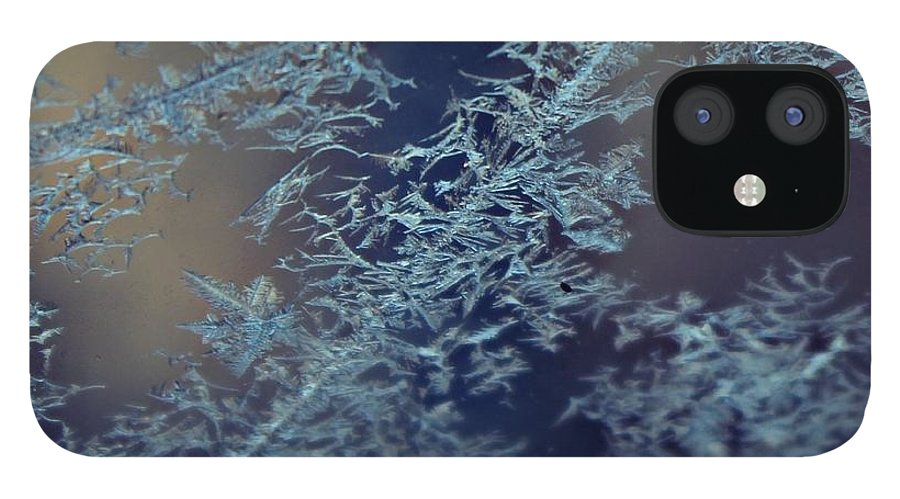 Frost IPhone 12 Case featuring the photograph Frosty by Candice Trimble