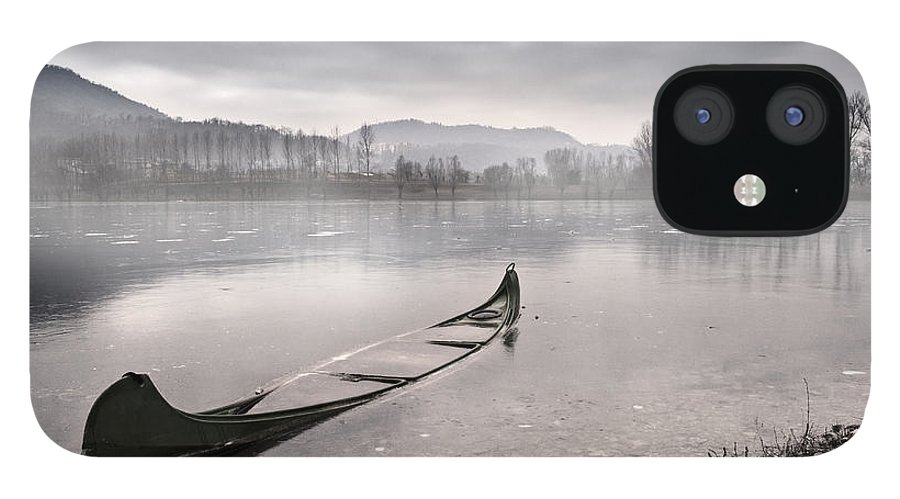 Lake IPhone 12 Case featuring the photograph Frozen day by Yuri San