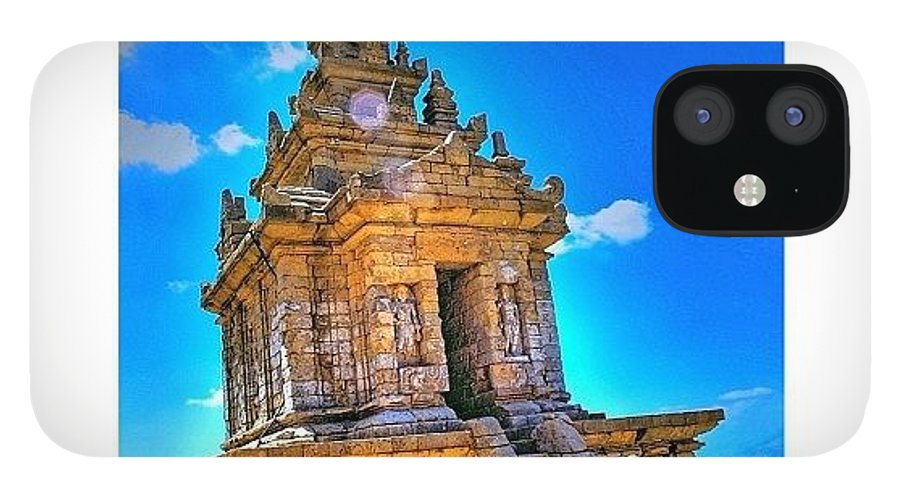 Indonesiatravel IPhone 12 Case featuring the photograph Gedong Songo (indonesian: Candi Gedong by Tommy Tjahjono