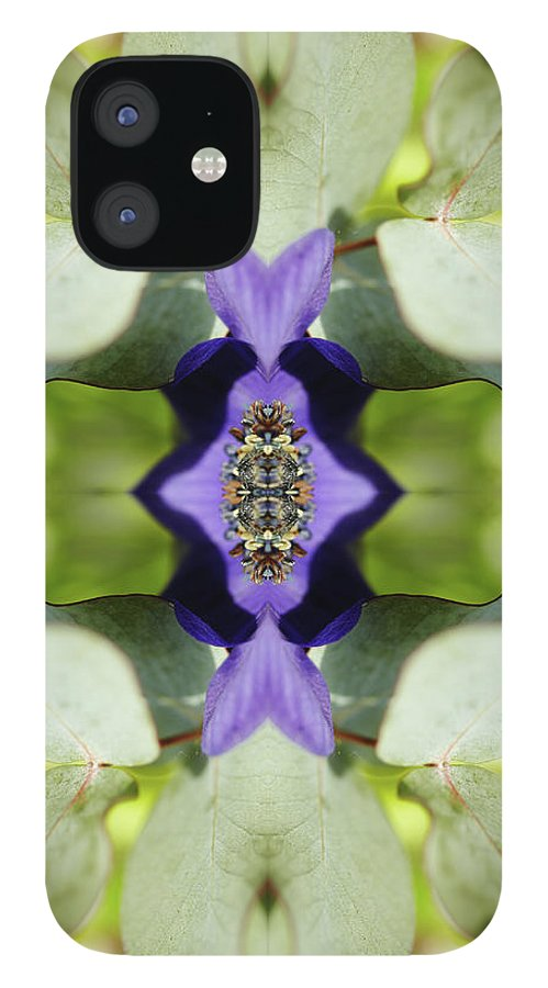 Tranquility IPhone 12 Case featuring the photograph Gerbera Flower by Silvia Otte