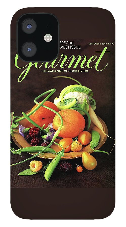 Gourmet Cover Featuring A Variety Of Fruit IPhone 12 Case