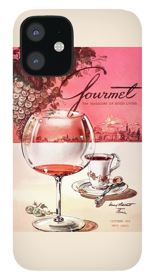 Gourmet Cover Illustration Of A Baccarat Balloon IPhone 12 Case