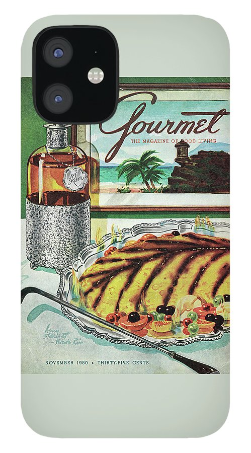 Gourmet Cover Of An Omelette Au Ruhm IPhone 12 Case