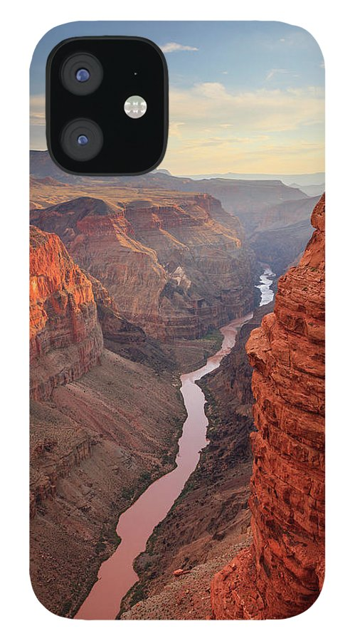 Tranquility IPhone 12 Case featuring the photograph Grand Canyon National Park by Michele Falzone
