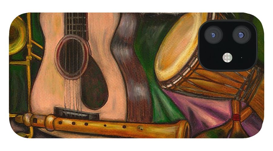 Music IPhone 12 Case featuring the photograph Grand POP by Artist RiA