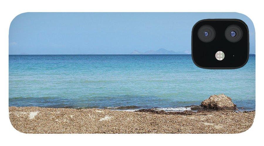 Greek Culture IPhone 12 Case featuring the photograph Greek Sea by Deimagine