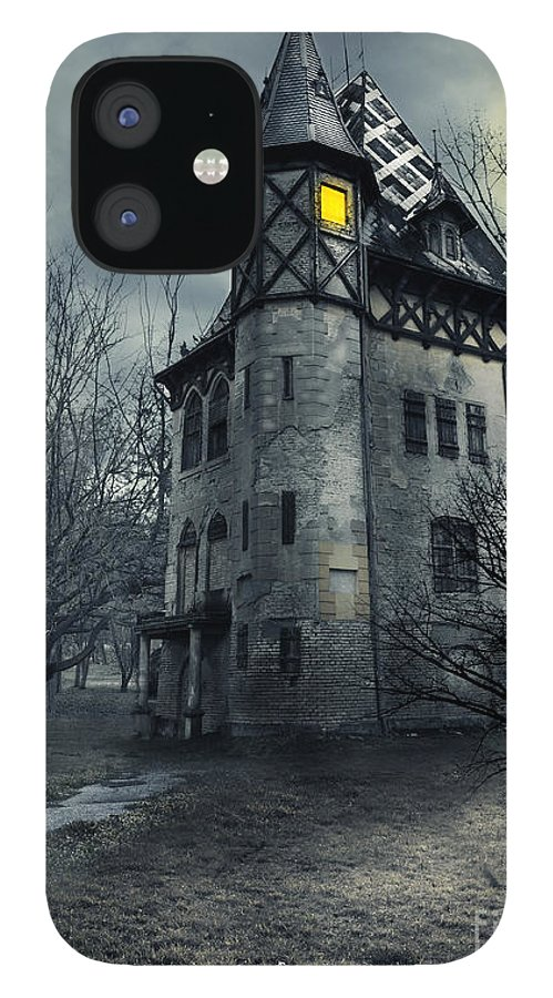 House iPhone 12 Case featuring the photograph Haunted house by Jelena Jovanovic