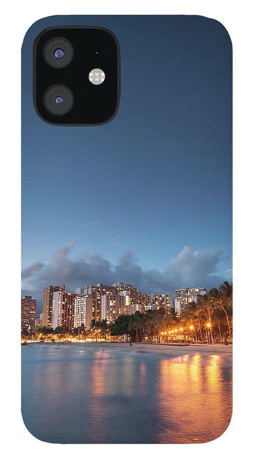 Honolulu IPhone 12 Case featuring the photograph Hawaii, Oahu, Honolulu by Michele Falzone