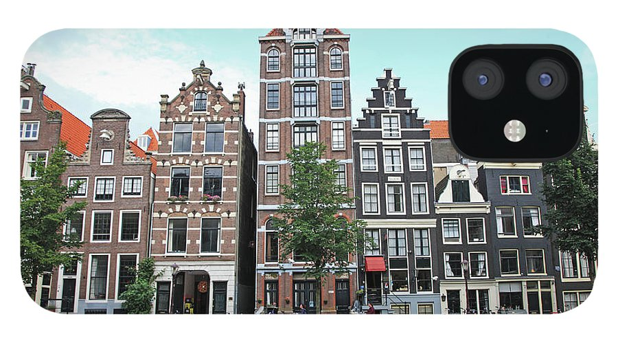 Netherlands IPhone 12 Case featuring the photograph Holland, Amsterdam by Hiroshi Higuchi