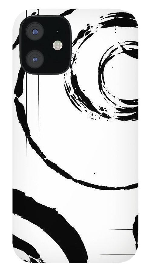 Abstract IPhone 12 Case featuring the digital art Honor by Melissa Smith