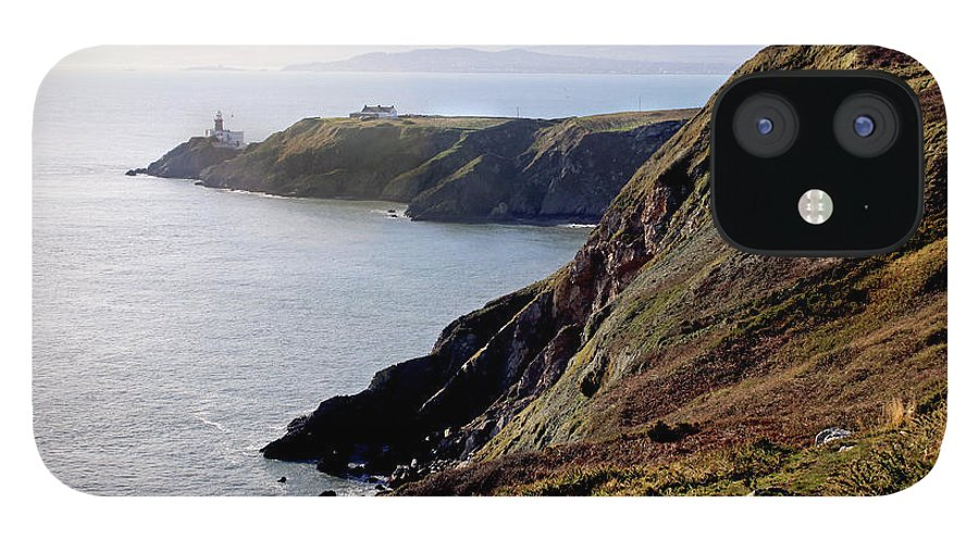 Tranquility IPhone 12 Case featuring the photograph Howth Head by Oonat
