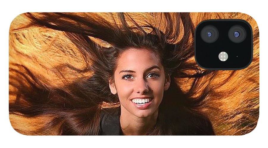IPhone 12 Case featuring the photograph I Had An Opportunity To Shoot Dana by Larry Marshall