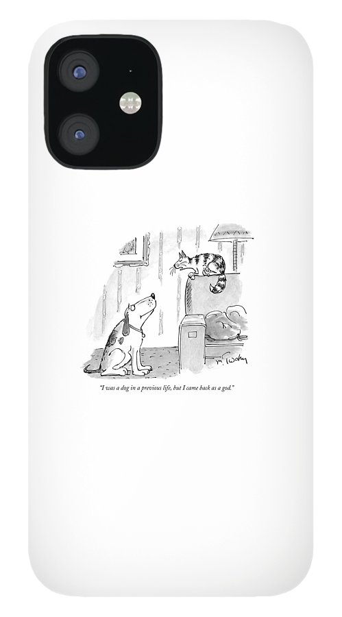 I Was A Dog In A Previous Life IPhone 12 Case