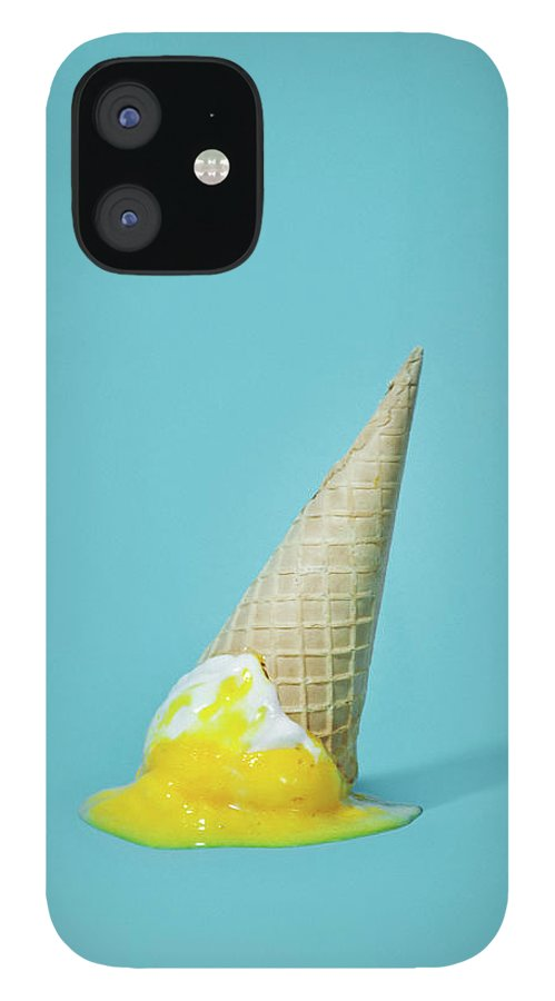 Melting IPhone 12 Case featuring the photograph Ice Cream by All Kind Of Things In Photo