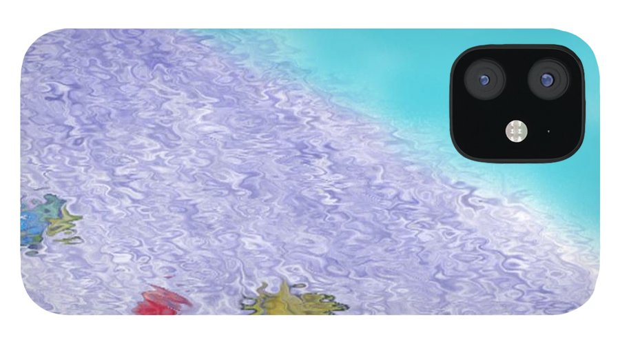Creation IPhone 12 Case featuring the digital art In the beginning 3 by Dr Loifer Vladimir