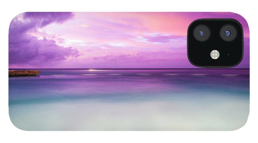 Scenics IPhone 12 Case featuring the photograph Infinity Pool, Uluwatu, Bali by John Harper