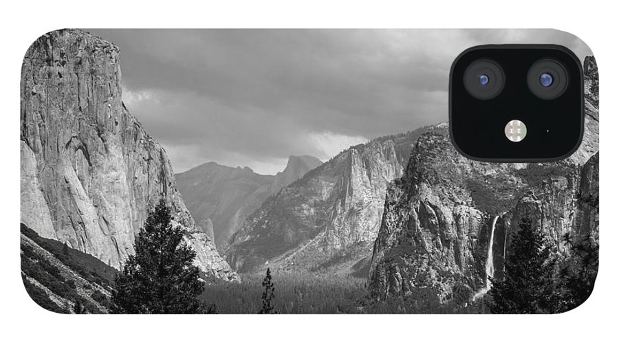 Yosemite IPhone 12 Case featuring the photograph Inspiration by Kristopher Schoenleber