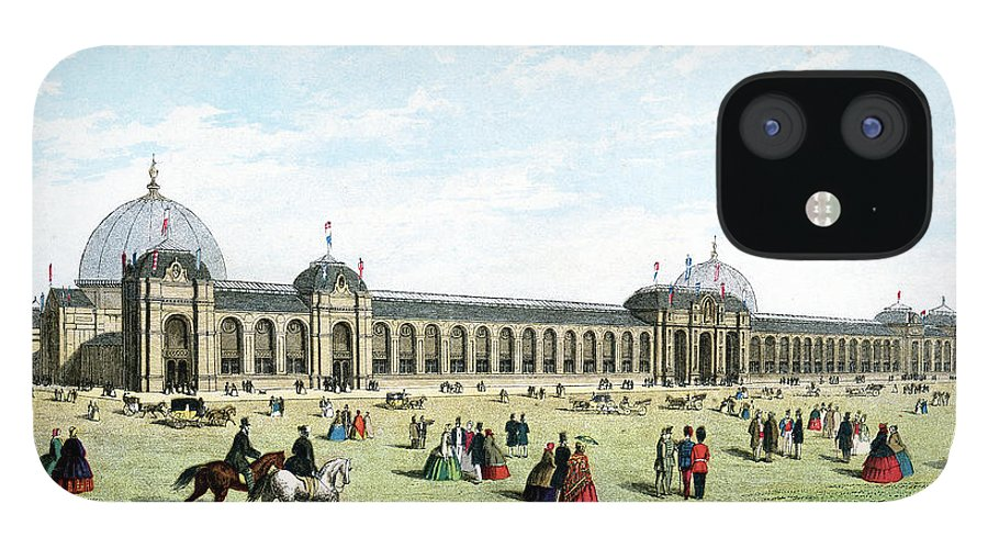 Event IPhone 12 Case featuring the digital art International Exhibition Of 1862 by Duncan1890