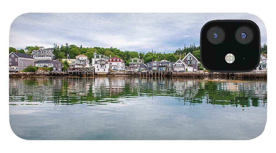 Town IPhone 12 Case featuring the photograph Island Village by Edwin Remsberg
