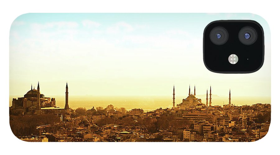 Tranquility iPhone 12 Case featuring the photograph Istanbul by Dhmig Photography