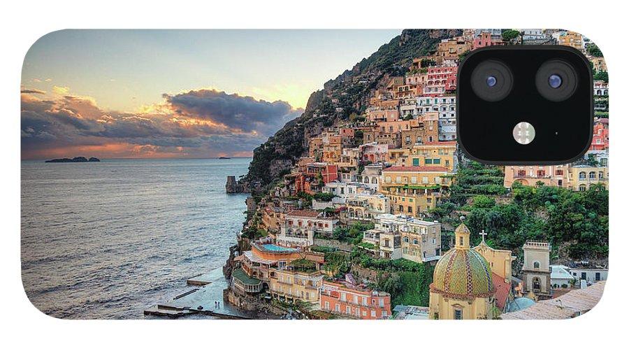 Amalfi Coast IPhone 12 Case featuring the photograph Italy, Amalfi Coast, Positano by Michele Falzone