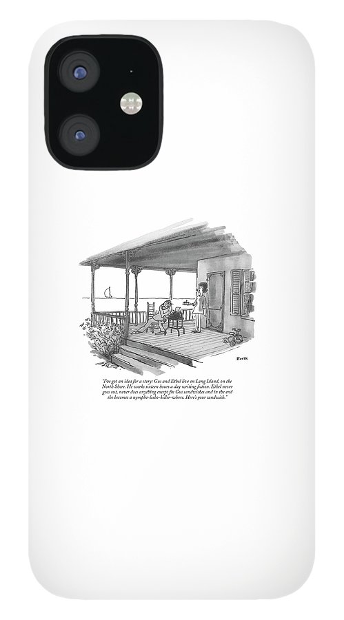 I've Got An Idea For A Story: Gus And Ethel Live IPhone 12 Case
