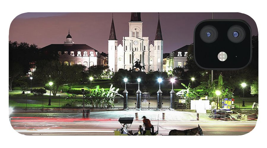 Southern Usa IPhone 12 Case featuring the photograph Jackson Square by Denistangneyjr