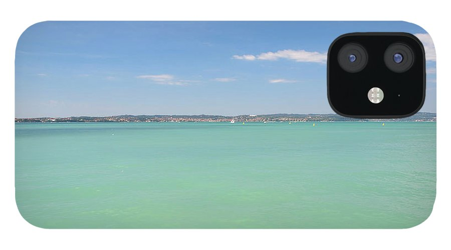 Scenics IPhone 12 Case featuring the photograph Lago Di Garda by Goranstimac