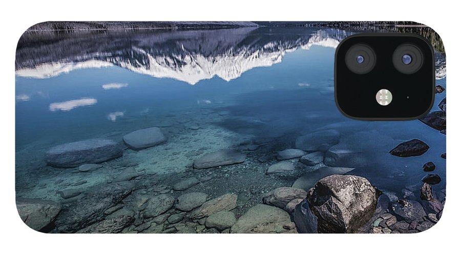 Scenics IPhone 12 Case featuring the photograph Lake Mcdonald, Montana by Aaron Aldrich Fine Art