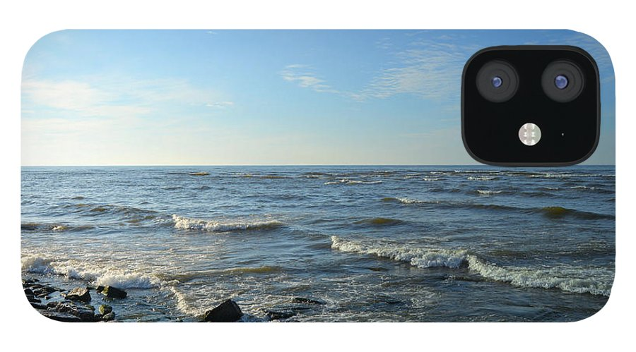 Lake iPhone 12 Case featuring the photograph Lake Ontario December by Rennae Christman