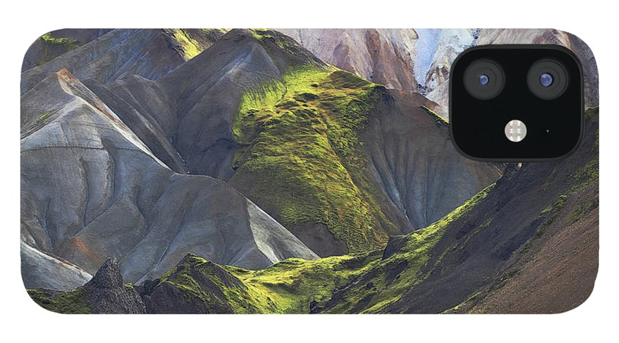 Tranquility IPhone 12 Case featuring the photograph Landmannalaugar Iceland by Sverrir Thorolfsson Iceland