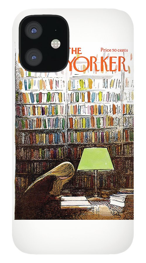 New Yorker March 3, 1973 IPhone 12 Case