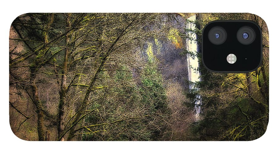Latourell IPhone 12 Case featuring the photograph Latourell Falls by Keith Gondron