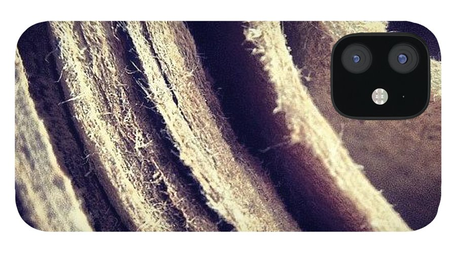 Macro IPhone 12 Case featuring the photograph Layers by Nic Squirrell