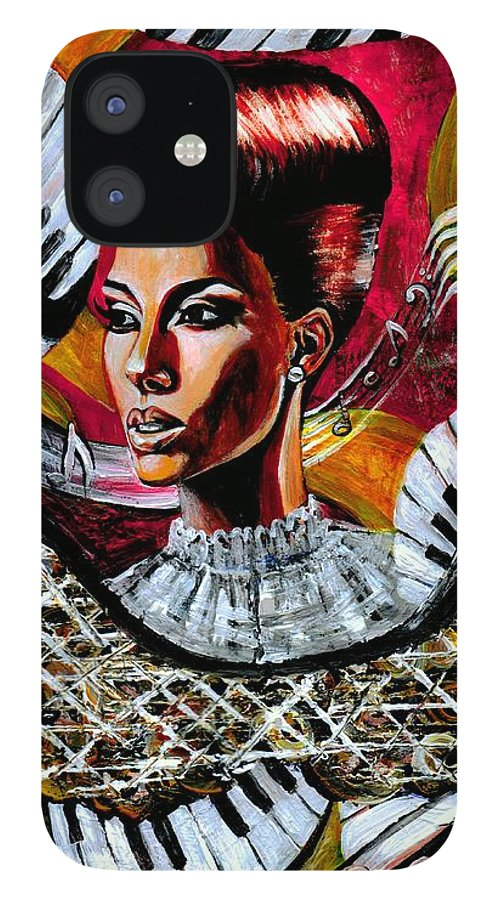Alicia Keys IPhone 12 Case featuring the photograph Life May Put You On Crazy Roller-coaster Rides But When Your Song Plays... by Artist RiA